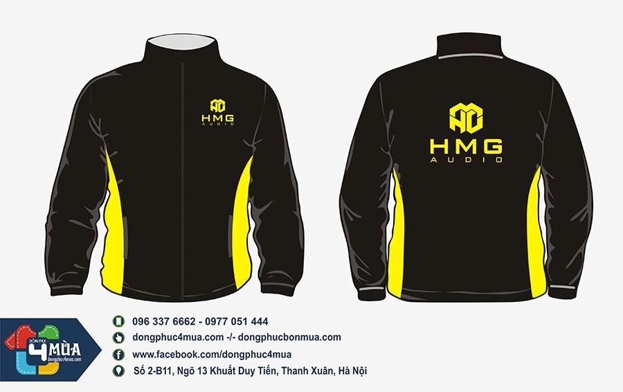 Đồng phục áo gió HMG