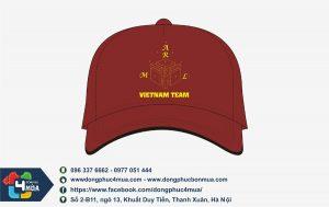 mu-luoi-trai-nhom-vietnam-team
