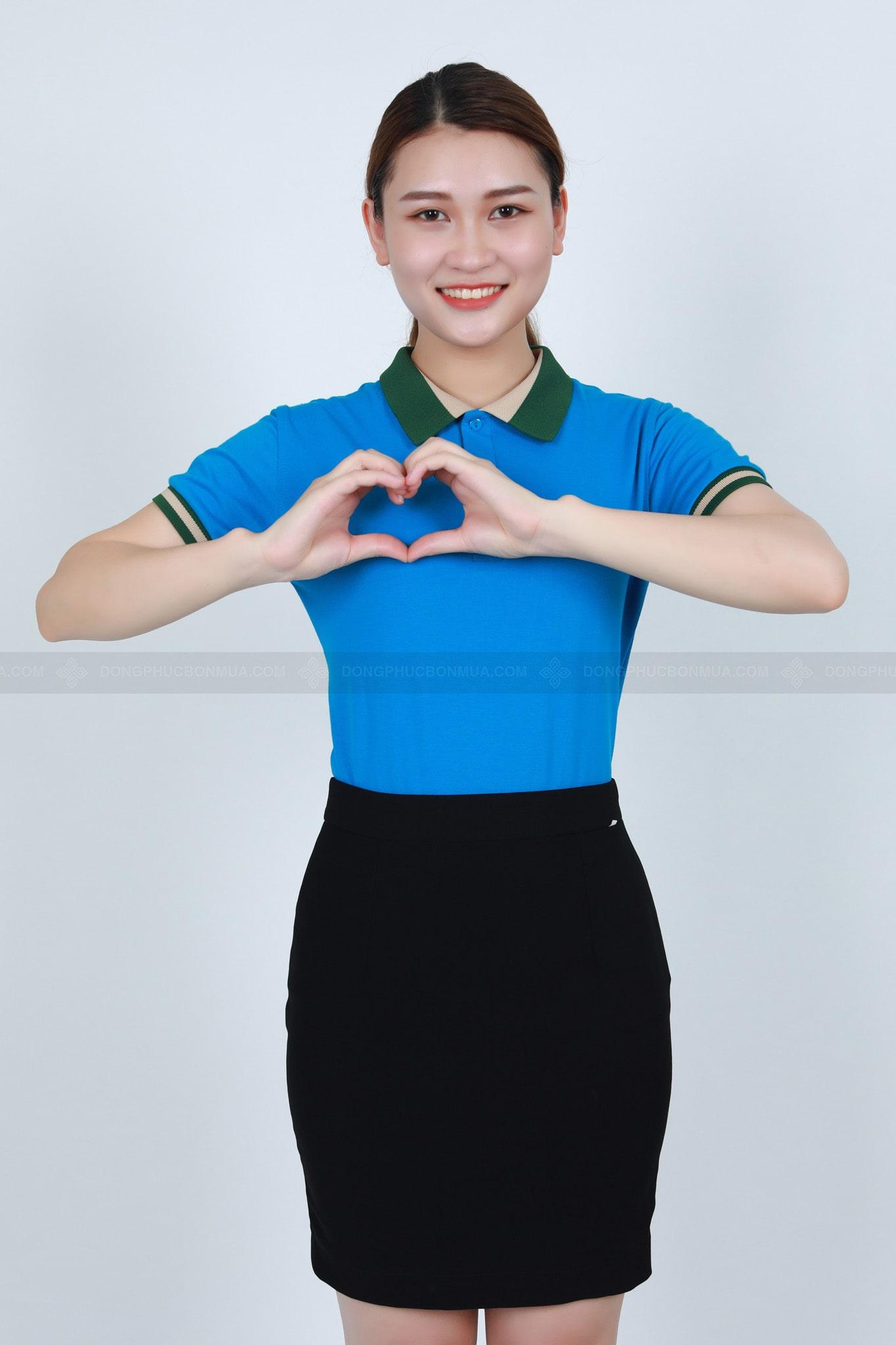 màu áo đồng phục công ty hợp phong thủy