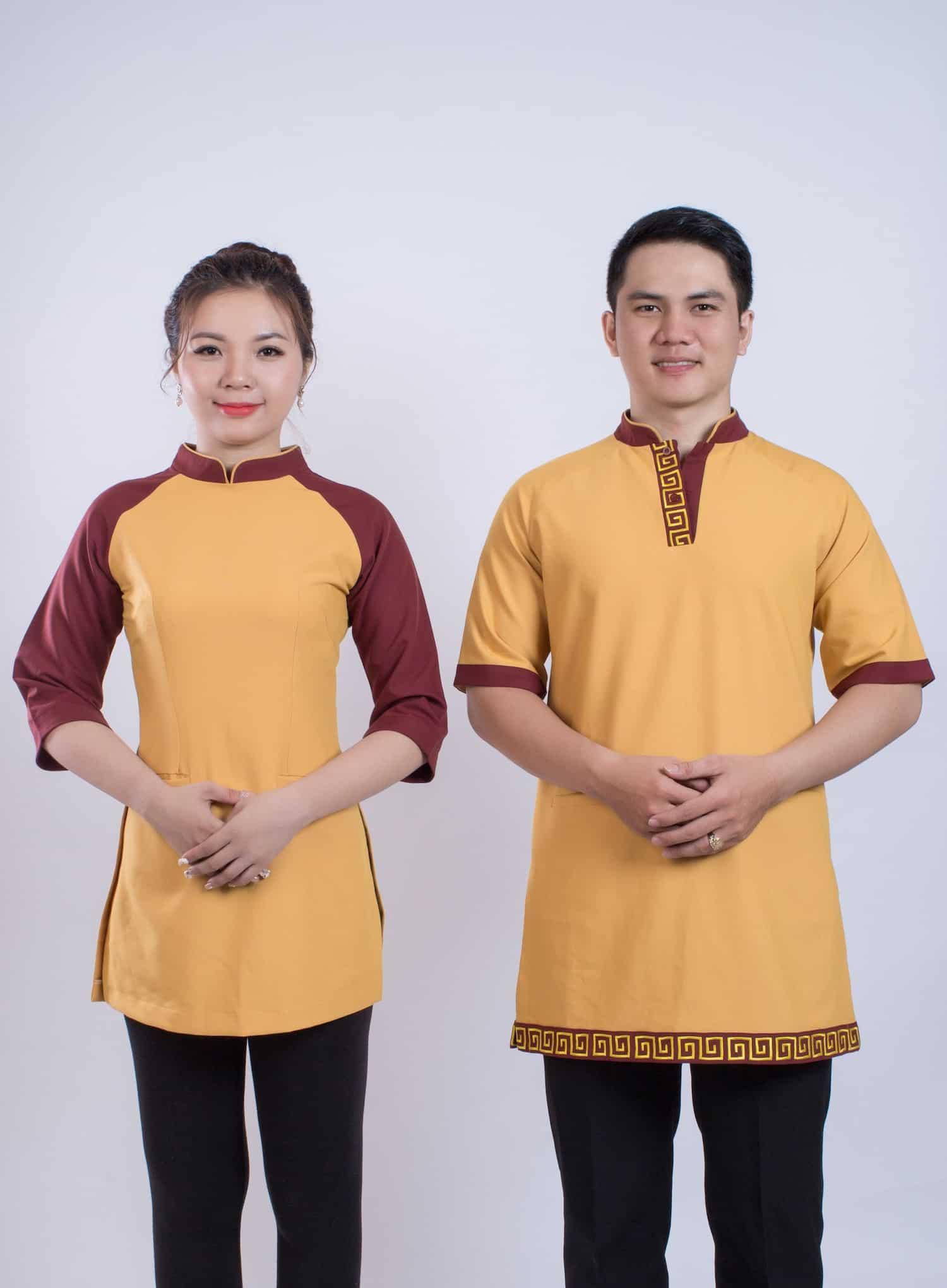 đồng phục nhà hàng Việt Nam