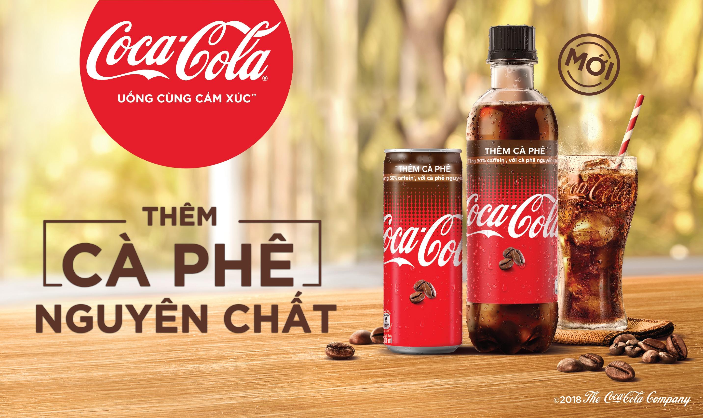 Coca Cola không ngừng cải tiến, đổi mới sản phẩm.