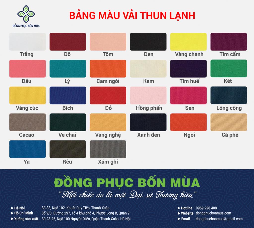 Bang mau Thun Lanh