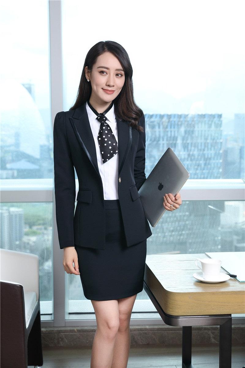 quần áo vest nữ công sở