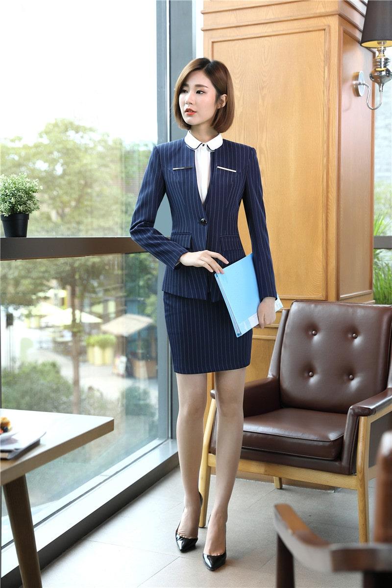 áo vest nữ đồng phục công sở