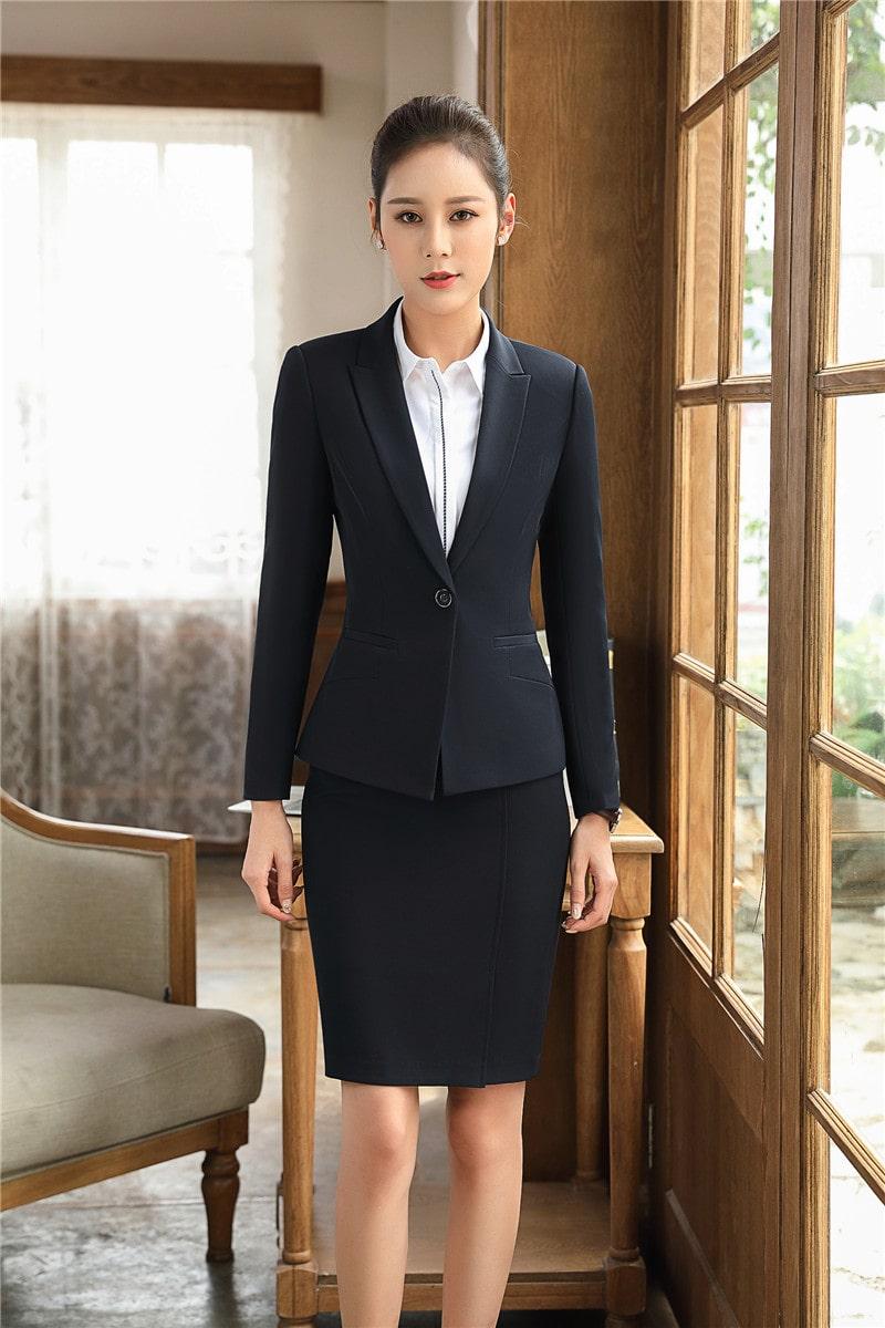 bộ vest nữ công sở