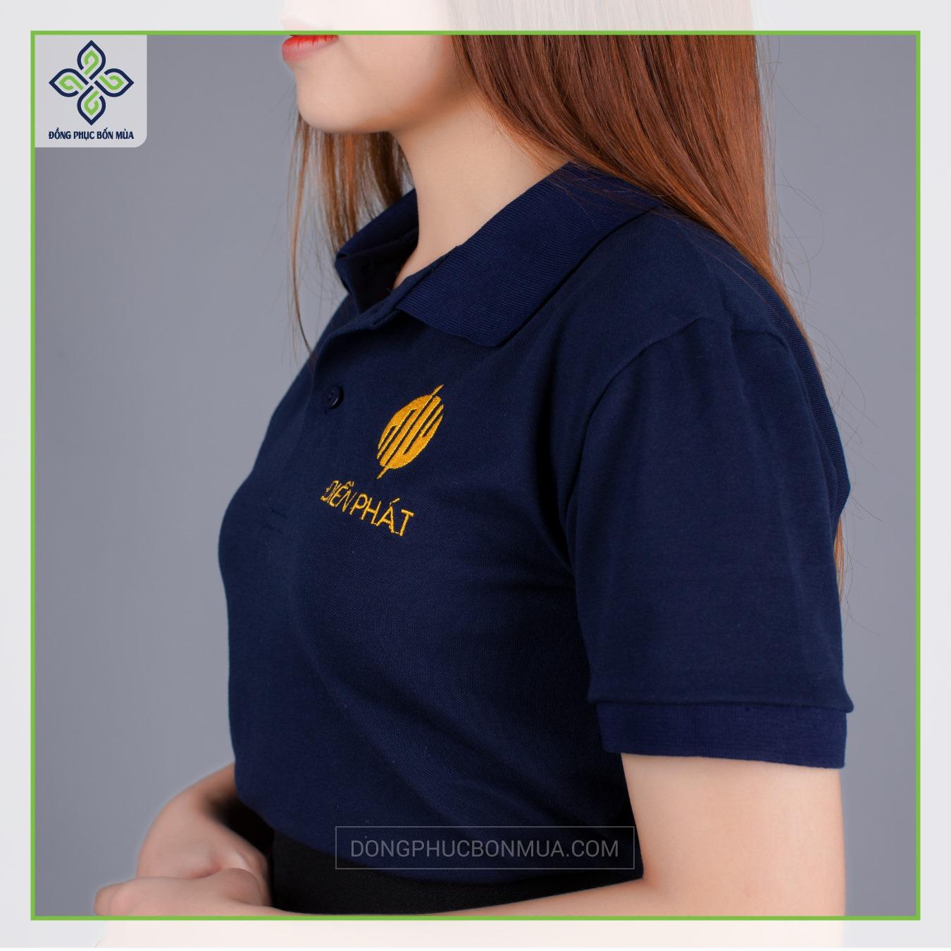 Áo đồng phục đẹp làm nổi bật thương hiệu doanh nghiệp.