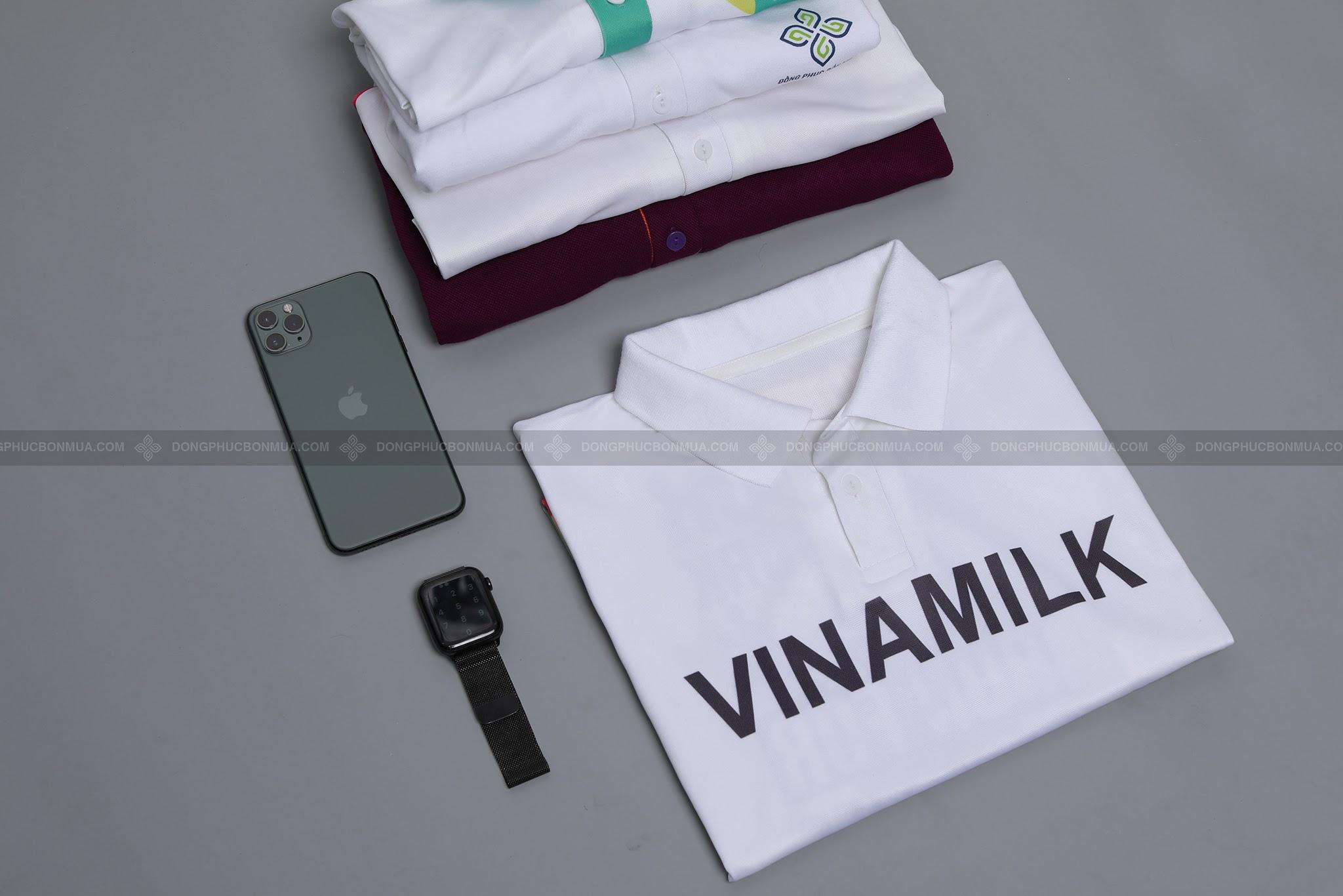 áo đồng phục vinamill