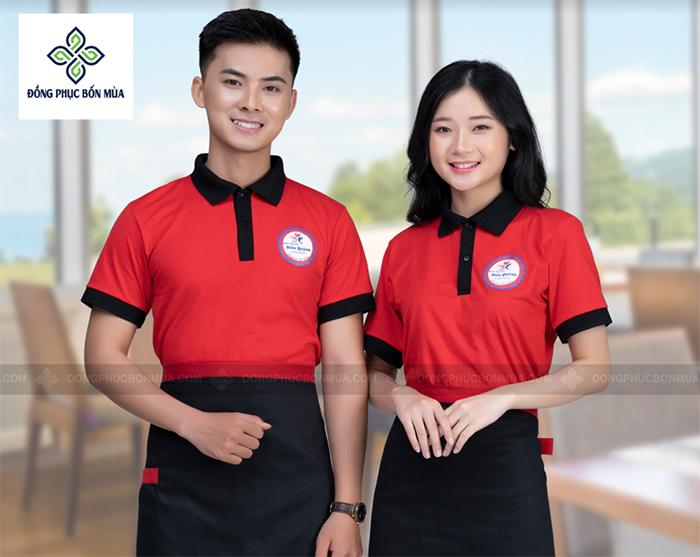 Sử dụng áo đồng phục cho nhân viên thể hiện rõ sự chuyên nghiệp và đồng bộ