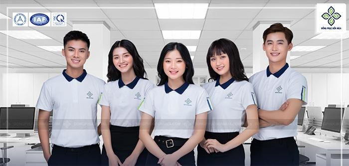 Áo đồng phục công sở đẹp là những bộ trang phục thực hiện được chức năng truyền thông cho doanh nghiệp