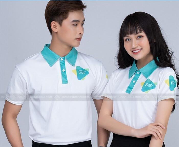 Áo đồng phục công sở với đa dạng những mẫu mã, kiểu dáng thiết kế bắt mắt, ấn tượng hợp thời trang góp phần làm nên sự tự tin cho nhân viên