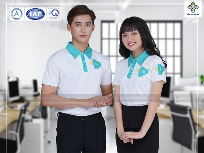 Áo đồng phục công ty là sản phẩm thể hiện lĩnh vực kinh doanh, có chiến lược và định hướng phát triển riêng của công ty