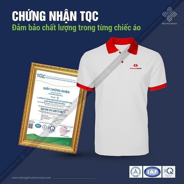 Áo đồng phục đạt chuẩn TQC