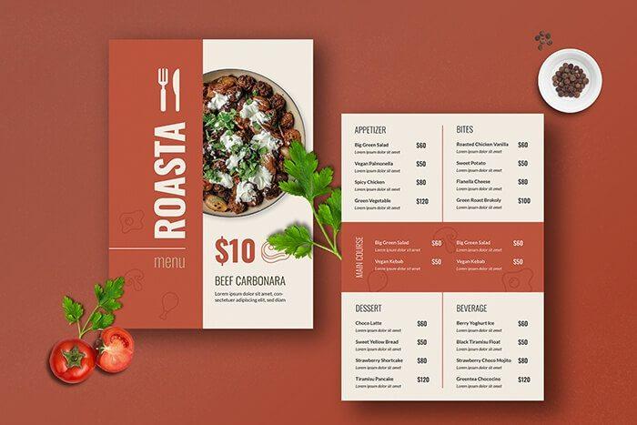 Thu hút khách hàng nhờ menu độc đáo