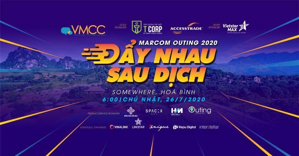 """""""VMCC Marcom Outing 2020 - Đẩy nhau sau dịch"""""""