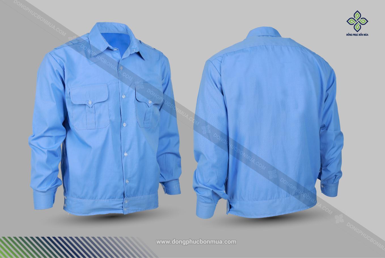 Đồng phục bảo vệ giá rẻ thể hiện sự chuyên nghiệp.