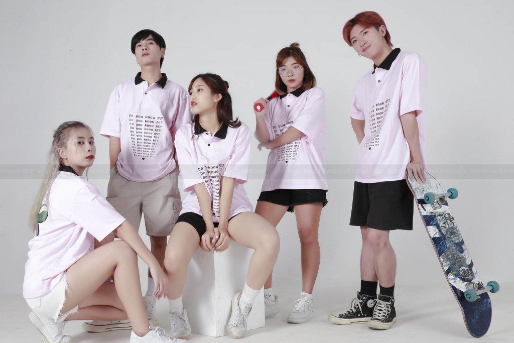 May áo đồng phục lớp tại Hà Nội bắt trend nhất