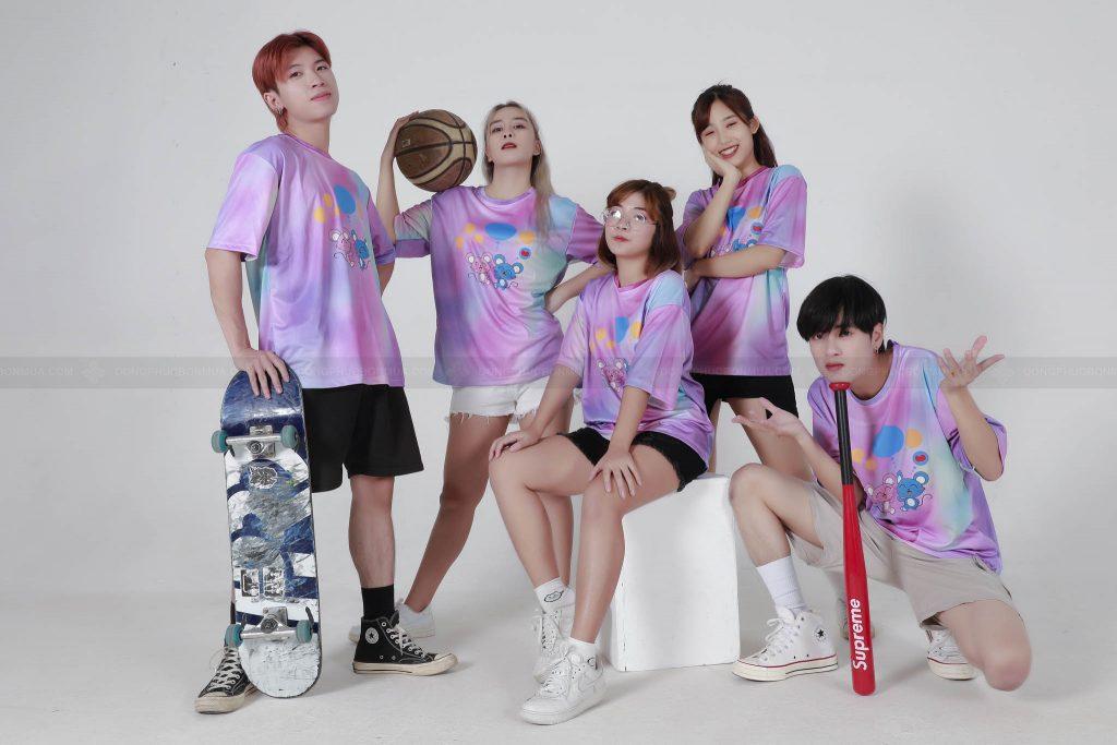 Áo lớp tie dye - áo đồng phục lớp tại Hà Nội hot nhất năm 2020