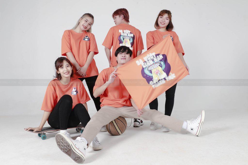 Mẫu áo đồng phục lớp tại Hà Nội lấy cảm hứng từ tình bạn