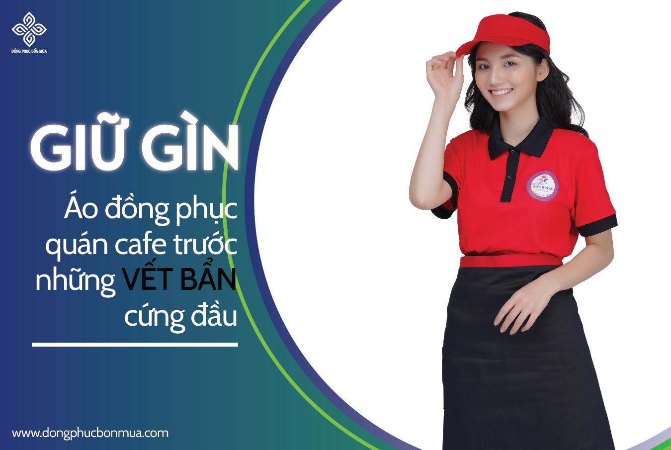 Giữ gìn bảo quản áo đồng phục quán cafe sau thời gian dài sử dụng