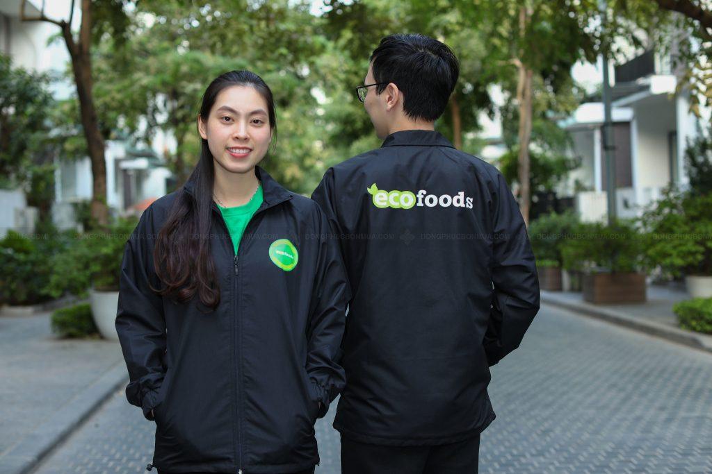 Áo khoác gió đồng phục thể hiện sự quan tâm với nhân viên của bạn.