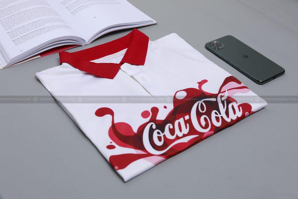 Áo đồng phục có mực in chất lượng cho hình in sắc nét