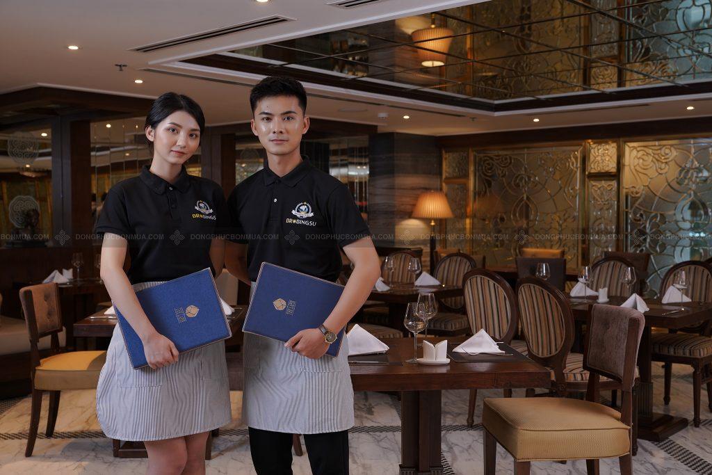 Đồng phục tạp dề có ý nghĩa vô cùng quan trọng trong ngành nhà hàng, khách sạn