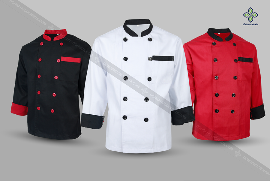 Màu sắc của đồng phục bếp ảnh hưởng không nhỏ đến tâm lý khách hàng