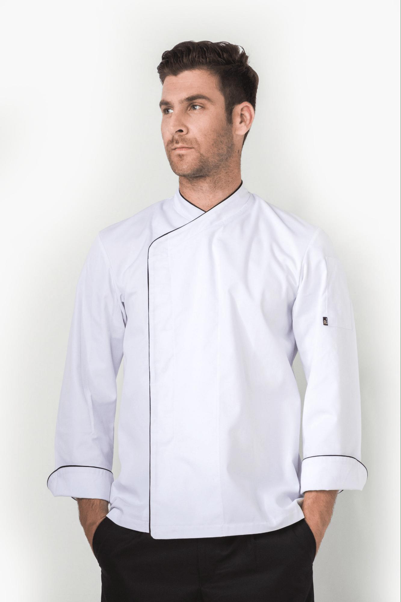 mẫu áo bếp trưởng