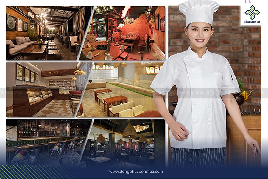 Đồng phục bếp trưởng cách tân mang đến sự mới lạ và đa dạng cho đồng phục bếp