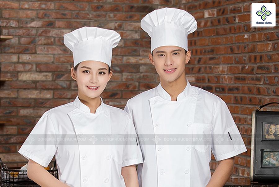 Áo đầu bếp may sẵn mang lại sự chuyên nghiệp cho nhà hàng