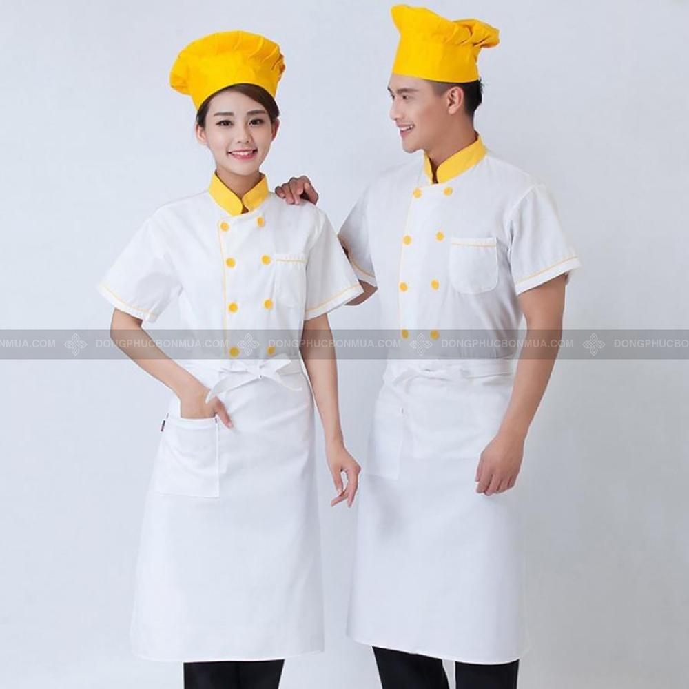 màu bộ đồng phục bếp