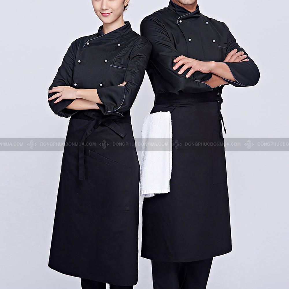 màu áo đồng phục bếp
