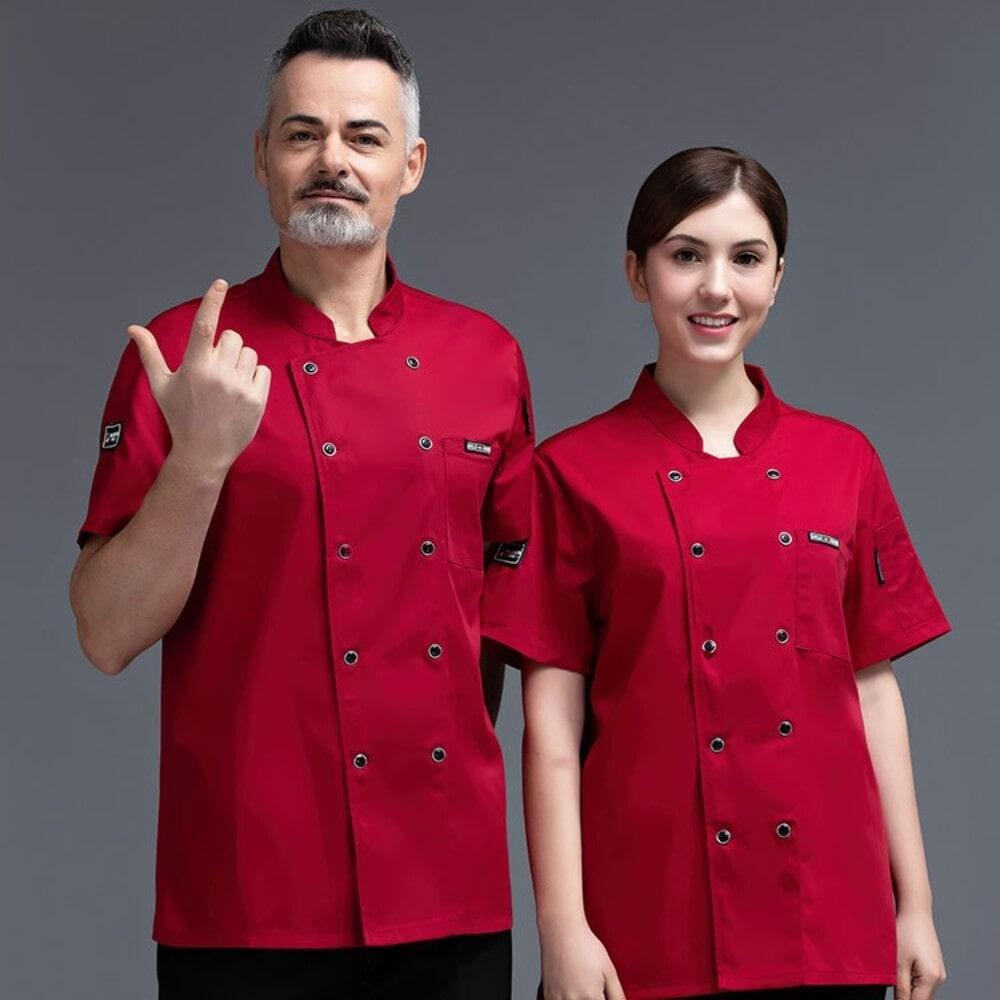 màu sắc đồng phục bếp