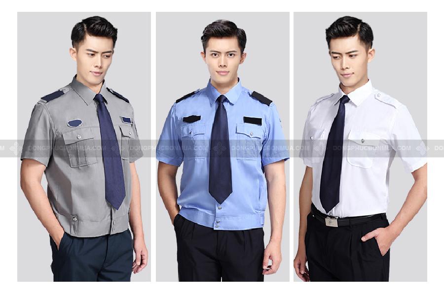 Đồng phục bảo vệ nâng cao sự chuyên nghiệp của doanh nghiệp