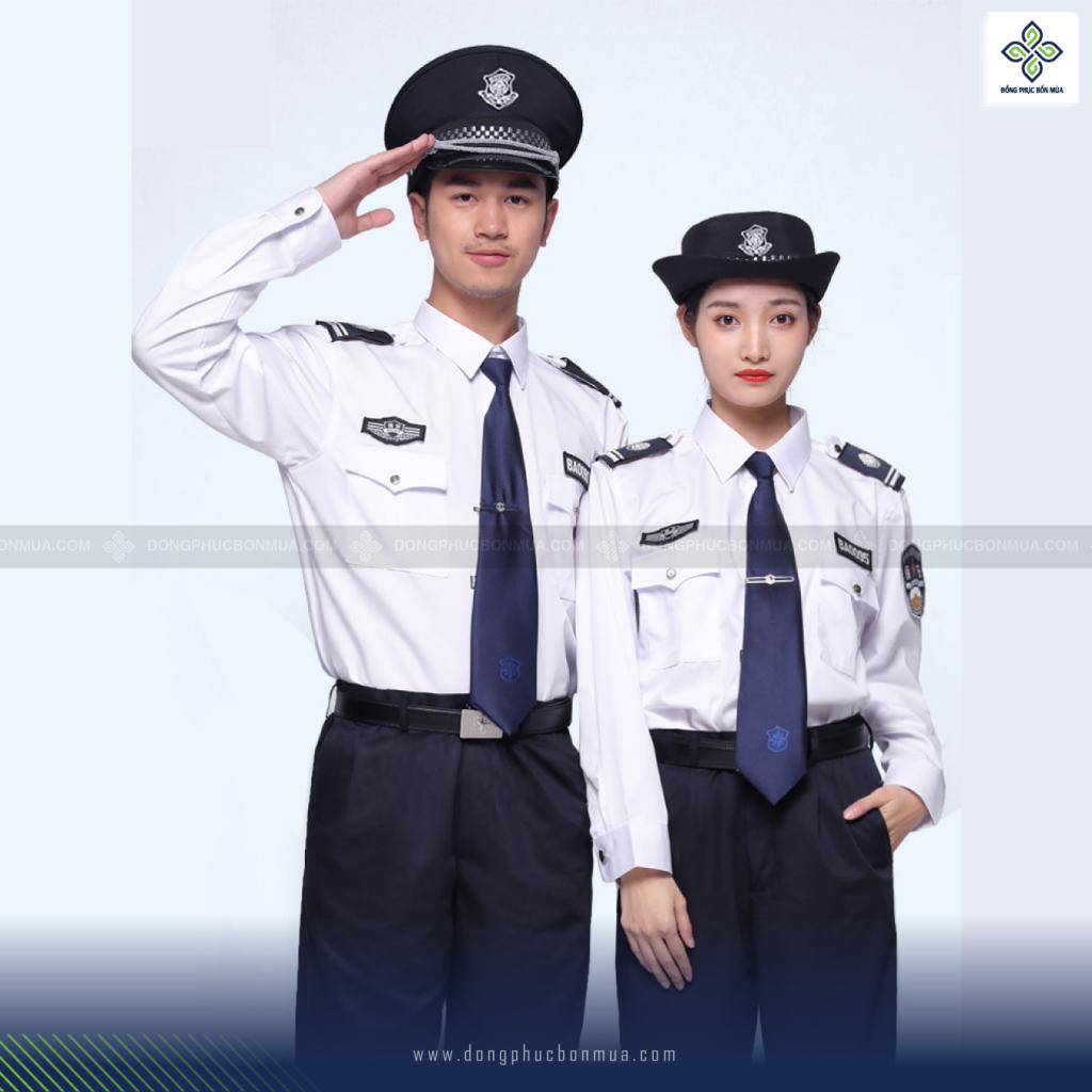 iểu dáng áo đồng phục bảo vệ cần tuân theo quy chuẩn