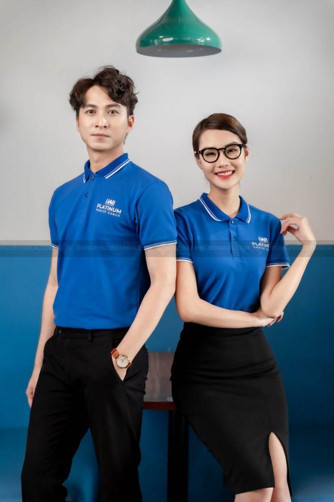 Đồng phục doanh nghiệp màu xanh hy vọng mang đến sự tươi mới