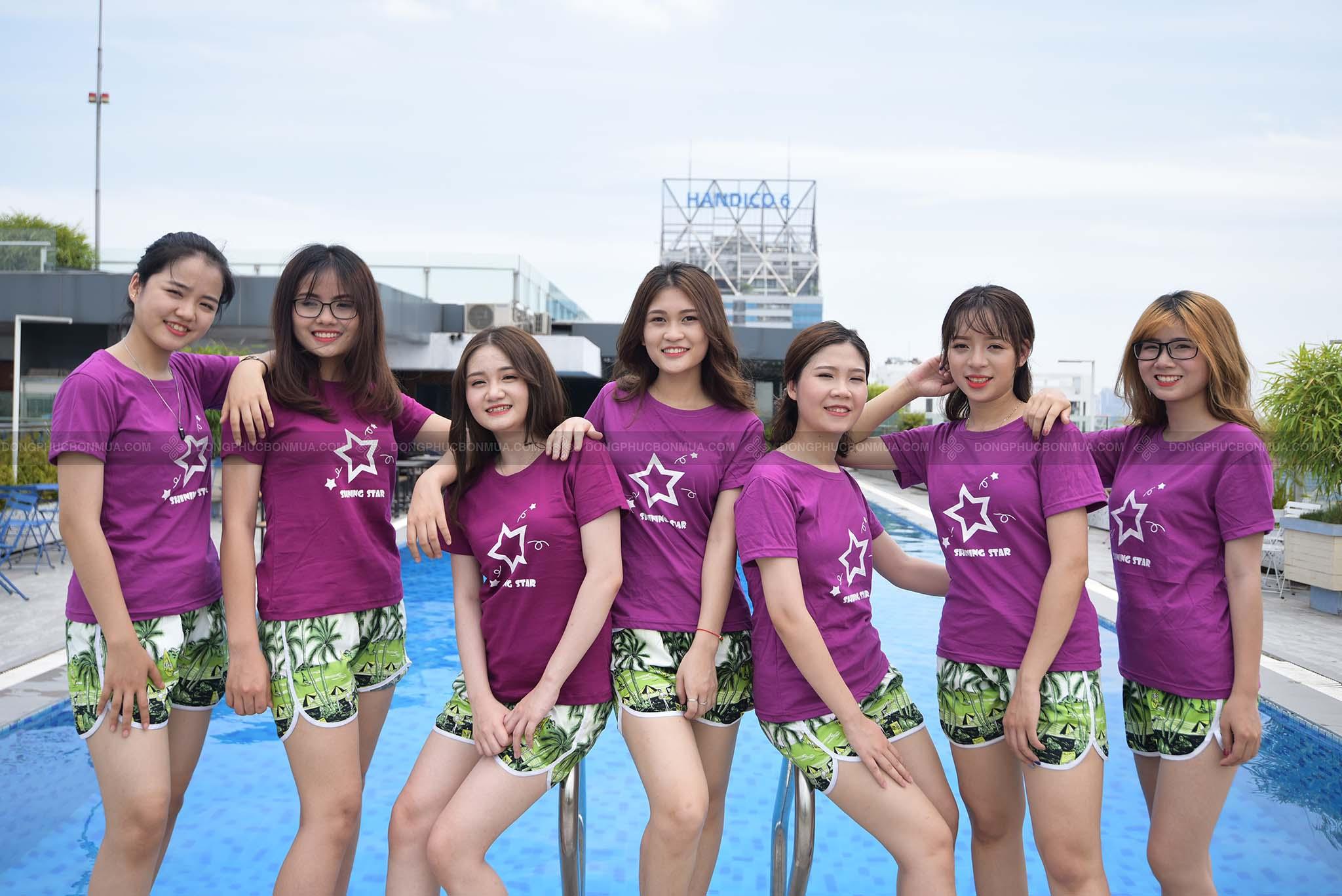 Aó team buiding đi biển