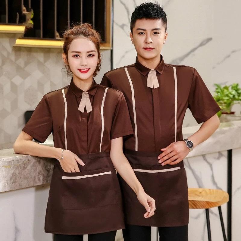 mẫu đồng phục nhà hàng