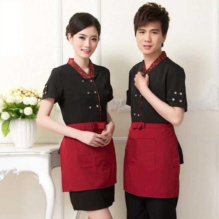 đồng phục nhà hàng hàn quốc