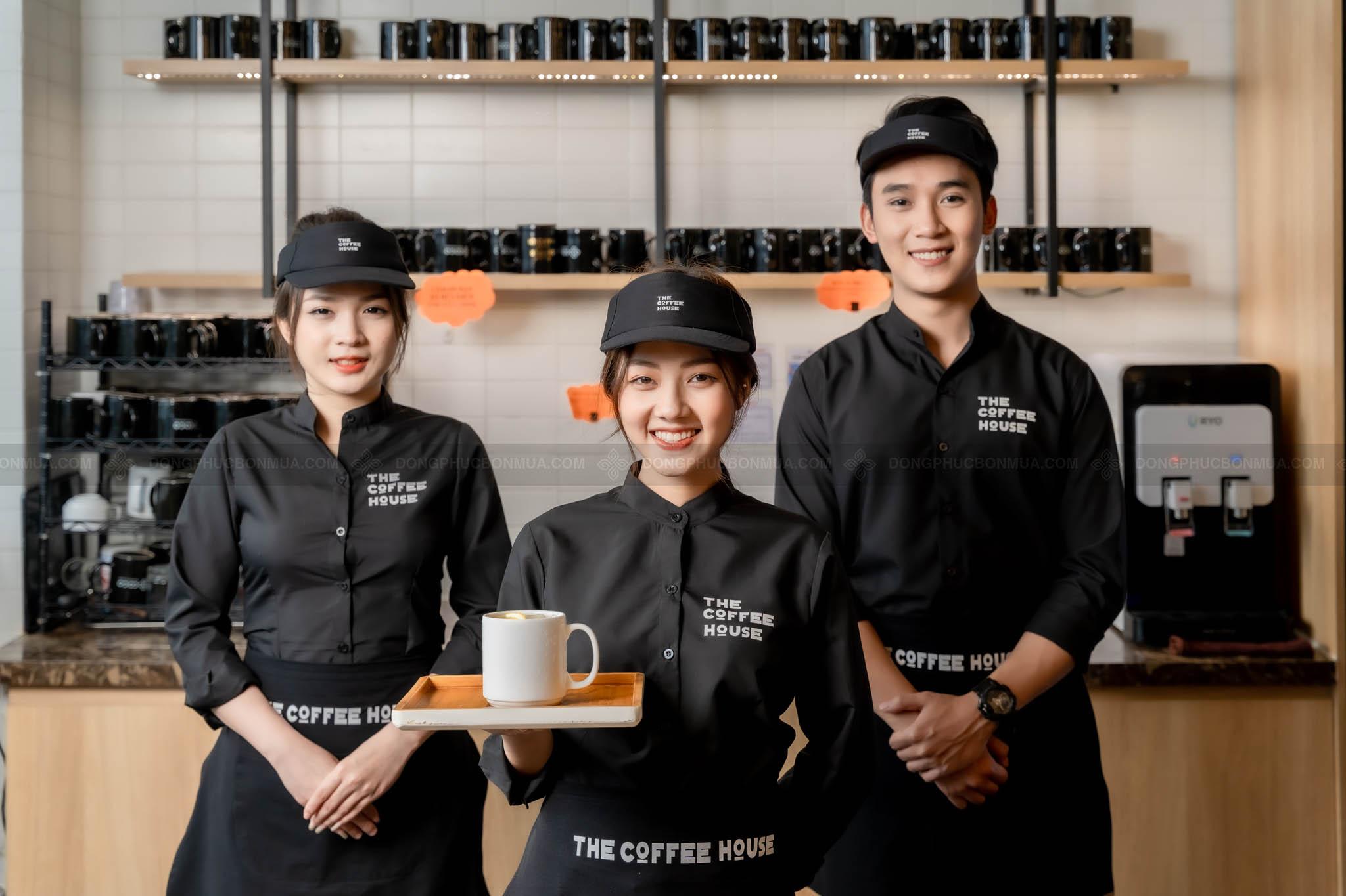 ao dong phuc cafe