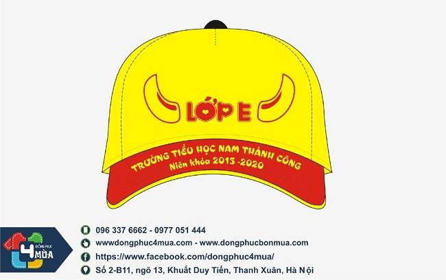 nón đồng phục công ty