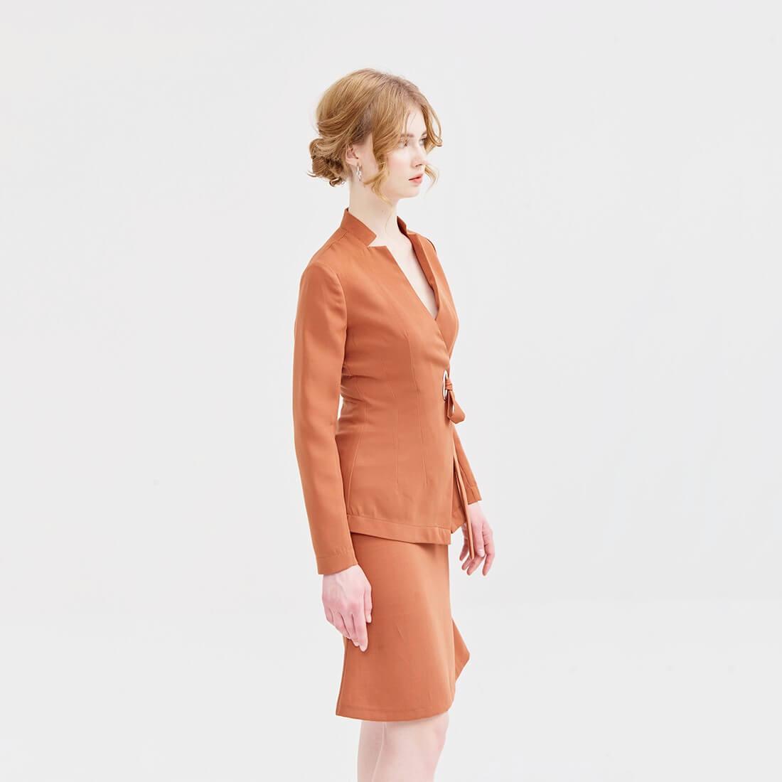 Áo Đồng phục màu cam