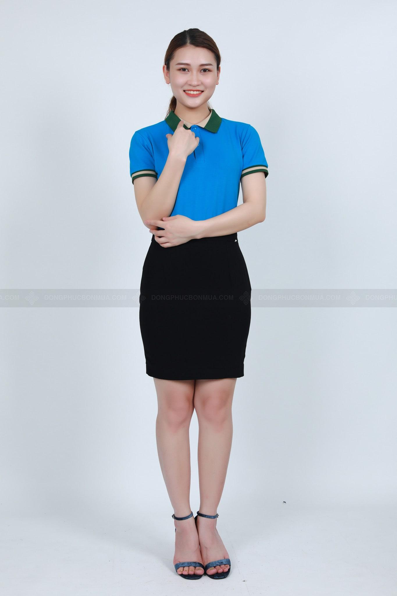 Đồng phục màu xanh dương