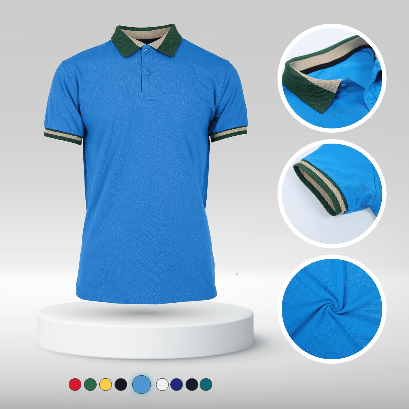 Áo đồng phục màu xanh dương