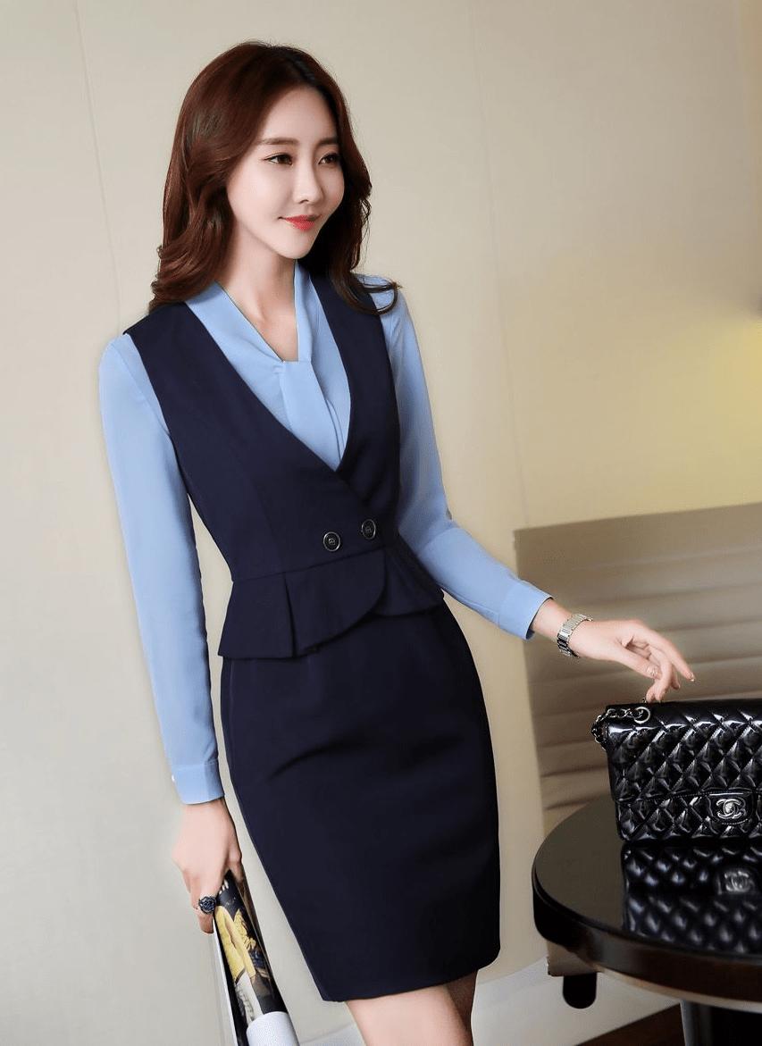 áo gile đồng phục nhà hàng