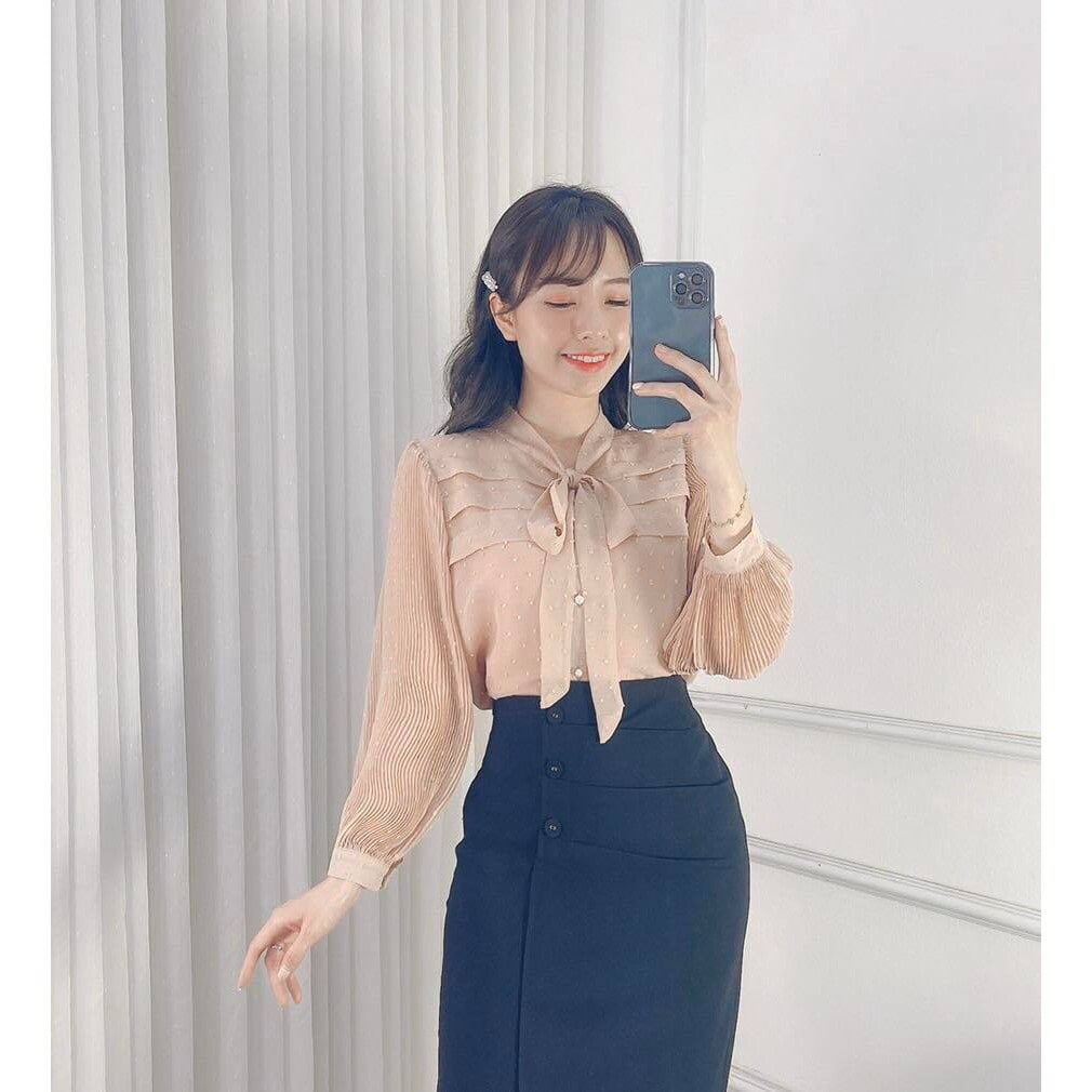 áo sơ mi kiểu Hàn Quốc