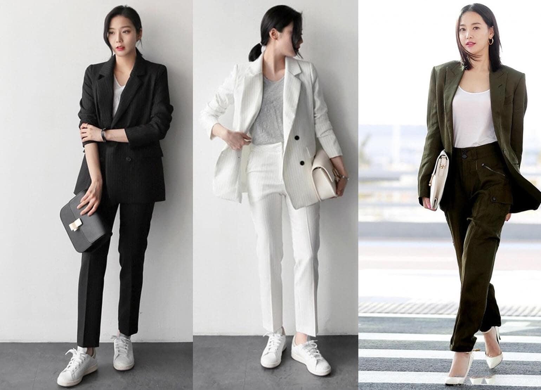 áo kiểu công sở Hàn Quốc