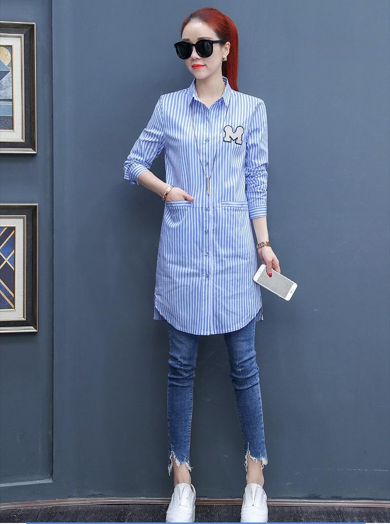 áo kiểu nữ công sở hàn quốc