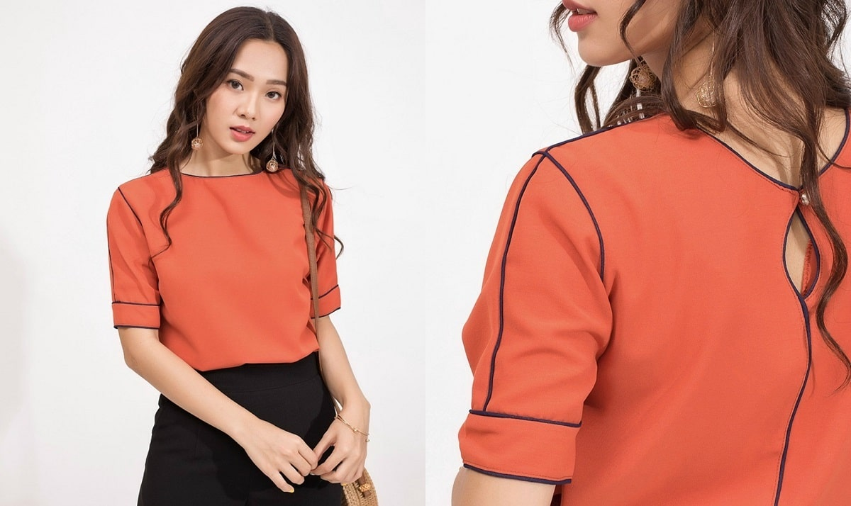 áo công sở Hàn Quốc