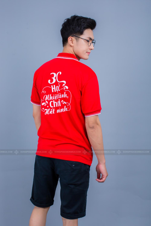 áo lớp màu đỏ